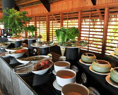Komandoo Island Resort & Spa Falhu Restaurant Buffet