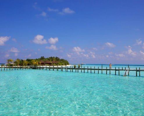 Komandoo Island Resort & Spa Island Steg