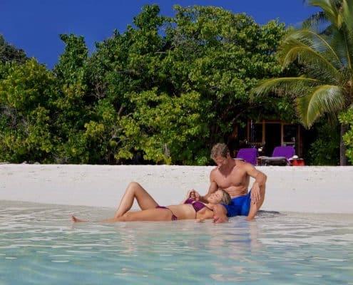 Komandoo Island Resort & Spa Strand