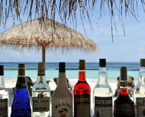 Komandoo Island Resort & Spa Thundi Bar Drinks